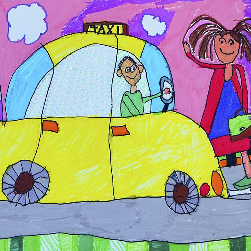 """Шофьор на такси"", Стефан Велков, 6 г., гр. Варна"