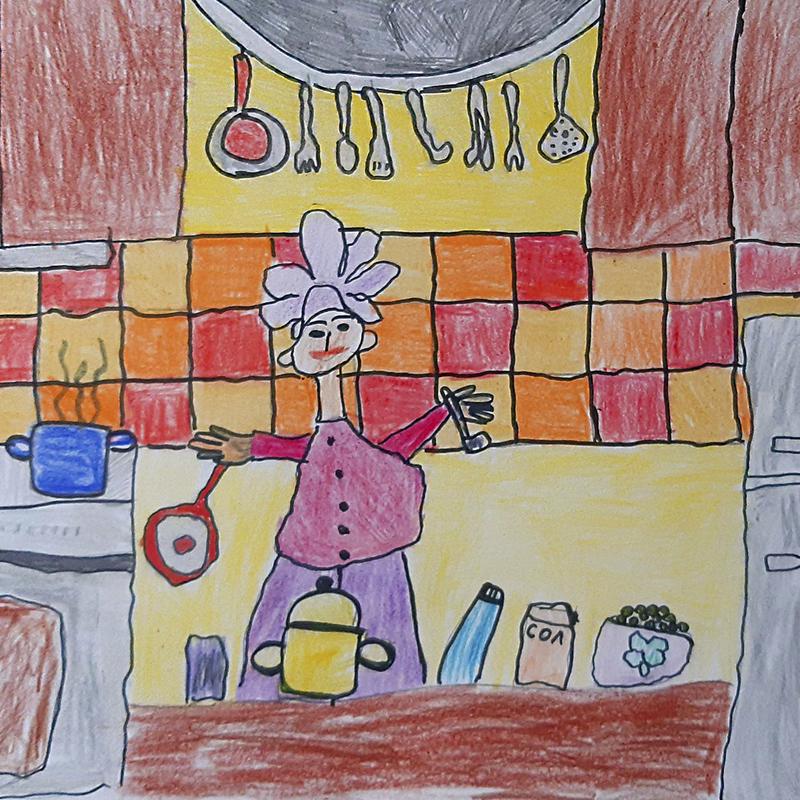"""""""Мечтая да бъда готвач"""", Теодора Стефанова, 5 г., гр. Бургас"""