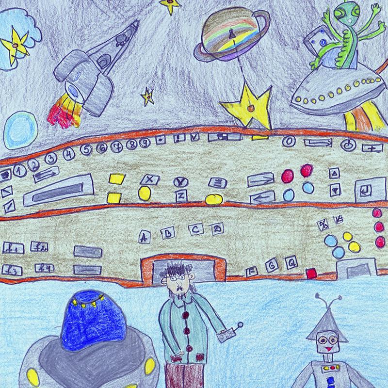 """1-во място ДГ: """"Технолог по космически системи"""", Цветелина Кръстева, 6 г., с. Езеро, обл. Нова Загора"""
