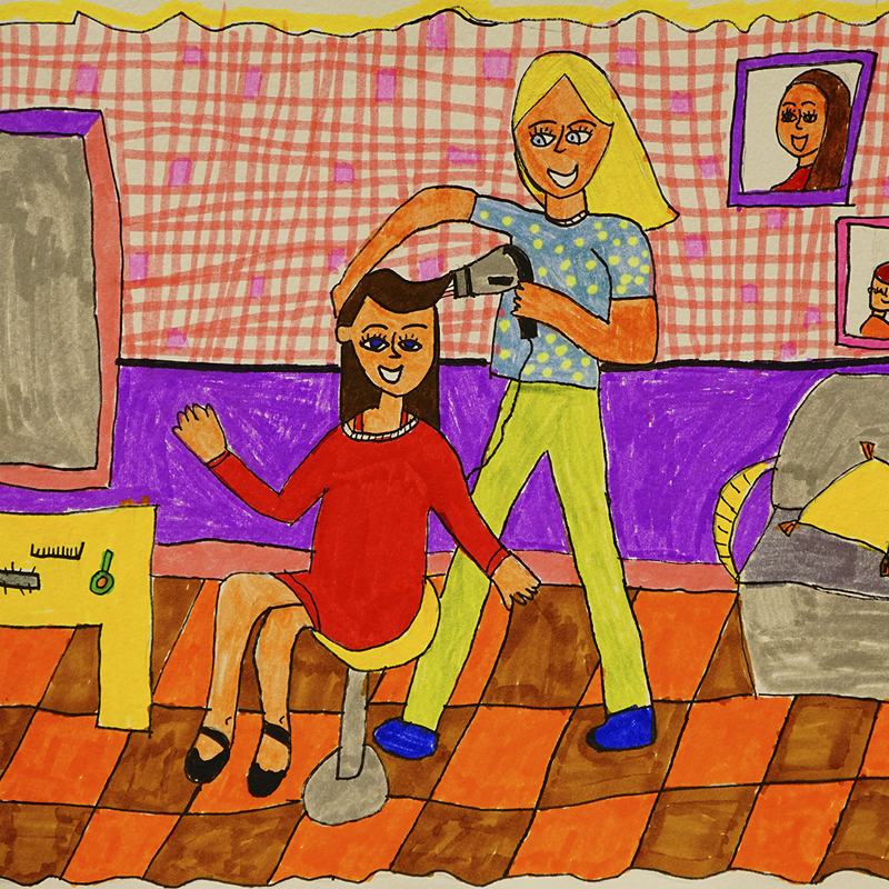 """Стилист-фризьор"", Йоанна Маринова, 8 г., гр. Варна"